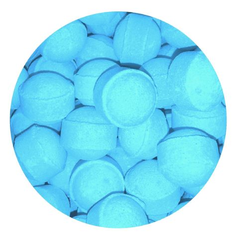 30 x Ocean Spray Mini Bath Marbles Fizzers Bath Bubble & Beyond 10g Each